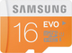 Samsung Evo microSDHC 16GB U1 with Adapter