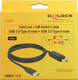 DeLock USB 3.0 Cable USB-A male - USB-A male 1.5m (83647)