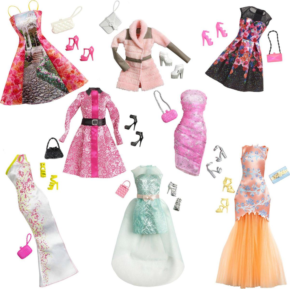 2b9668717eb7 Mattel Barbie Βραδινά Σύνολα - Διάφορα Σχέδια - Skroutz.gr