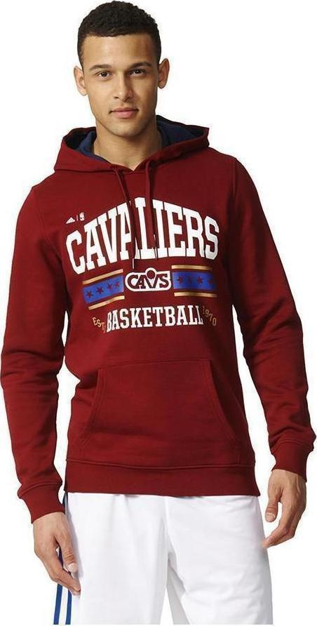 Adidas NBA Cleveland Cavaliers Washed PO Hoody AX7688 - Skroutz.gr 8ee207fd962