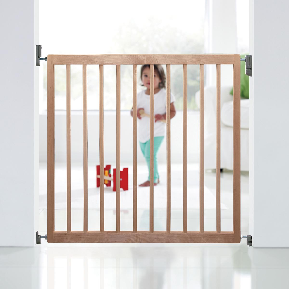 Single Wood Panel ~ Munchkin single panel wood wall mounted safety barrier