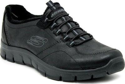 danés Si Bolsa  Skechers Rf Vegan Leather Bungee Slip-O 12394-BBK - Skroutz.gr