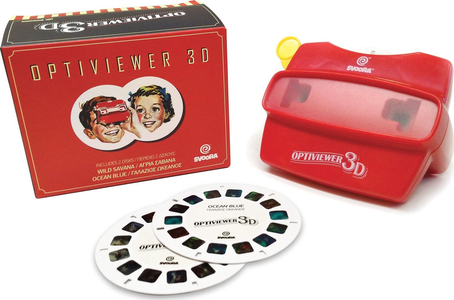 Svoora 3D Optiviewer με 2 Κάρτες