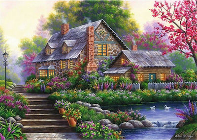 Romantisches Cottage 1000pcs (15184) Ravensburger