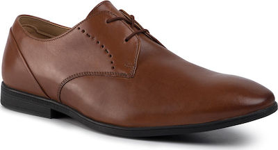 Clarks Bampton Lace Tan Leather