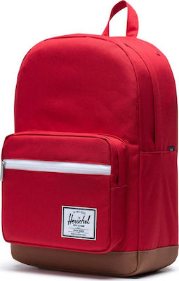 Herschel Supply Co Pop Quiz Red/Saddle Brown
