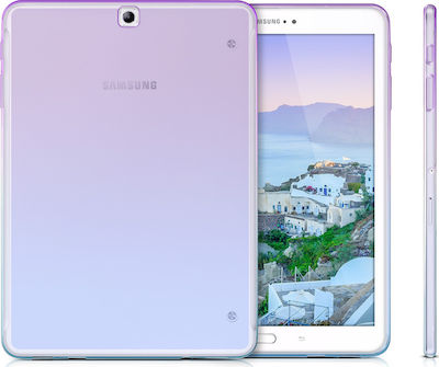 KW Soft Flexible Back Cover Violet / Blue / Transparent (Galaxy Tab S2 9.7)