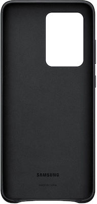 Samsung Leather Cover Μαύρο (Galaxy S20 Ultra)