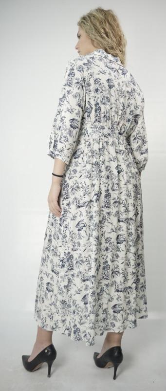 ΧΟΝΔΡΙΚΟ ΕΜΠΟΡΙΟ Φόρεμα Moutaki 20.07.69 White v8zDh
