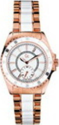 Guess Collection Rose Gold and White Ceramic 47003L1