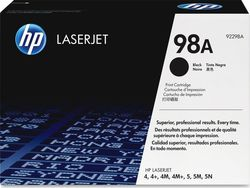 HP 98A Black Toner (92298A)