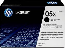 HP 05X Black High Yield Toner (CE505X)