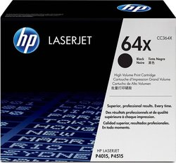 HP 64X Black High Yield Toner (CC364X)