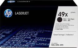 HP 49X Black High Yield Toner (Q5949X)