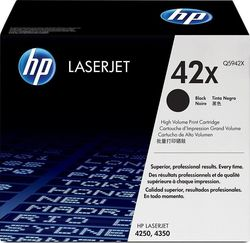 HP 42X Black High Yield Toner (Q5942X)
