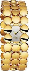 Dolce & Gabbana New Ladies Astrakan Gold Tone Bracelet Watch DW0448