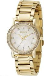 DKNY Gold Stainless Steel Bracelet Crystal Ladies NY4792