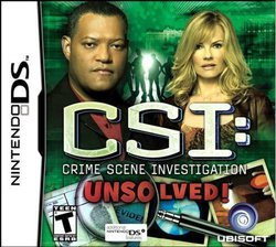CSI: Unsolved! DS