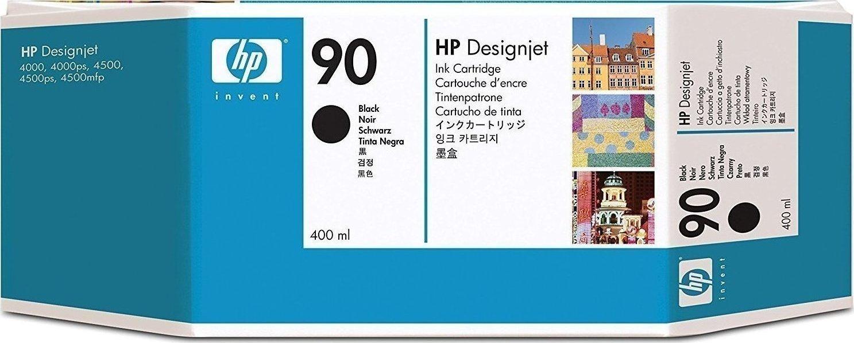 Hp 90 Black 400ml C5058a 81 680 Ml Designjet Dye Ink Cartridge Original Menu