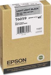 Epson T6059 Light Light Black (C13T605900)