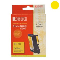 Ricoh RC-Y11 Yellow Regular Yield (402281)