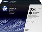 HP 05X Black High Yield 2-pack Toner (CE505XD)