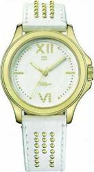Tommy Hilfiger Ladies White Leather Strap 1781013