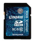 Kingston SDHC 8GB Class 10 UltimateX 100x