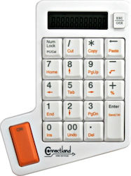 Connectland USB Keypad with White Calculator