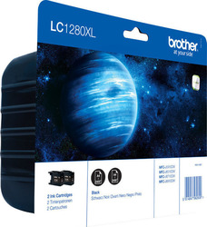 Brother LC1280XL Black Twin Pack (LC1280XLBKBP2)