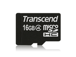 Transcend microSDHC class 4 card 16GB with Adatper