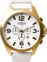 Oozoo Steel 50mm Chronograph Gold OS301