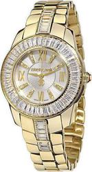Roberto Cavalli Fugit Crystal Lady Gold Stainless Steel Br - R7253147545