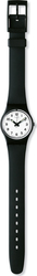 Swatch Something New Black Rubber Strap LB153