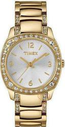Timex Crystals Gold Stainless Steel T2N035