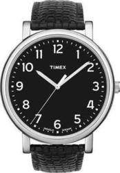 Timex Originals Black Leather Strap T2N474