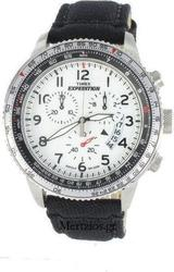 Timex Expedition Black Leather Chronograph T49824
