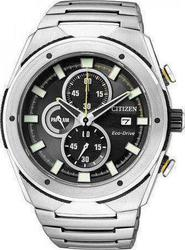Citizen Eco-Drive Chronograph Stainless Steel Bracelet CA0155-57E