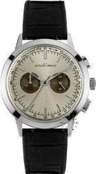 Jacques Lemans Chronograph Black Leather Strap - N204B