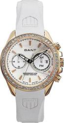 Gant Bedstone Ladies Crystal White Rubber Strap - GW10652