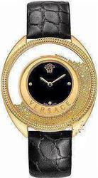 Versace Destiny Spirit Black Leather Strap 86Q70D008S009