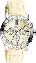 Dolce & Gabbana Women Genteel Ext White Leather Strap DW0678