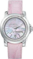 Saint Honore Euphoria Heart Pink Leather Strap 7520501RYCN