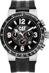 Caterpillar Cosmofit Chrono Black Rubber YL16321121