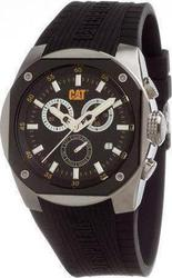 CAT T6 Chronograph Black Rubber Strap T614321114