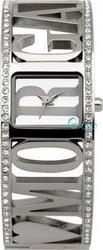 Morgan De Toi Logo Stainless Steel Crystal Ladies 1078S