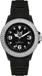 Ice-Watch Watch Stone Sili - Ladies Black ST.BS.S.S