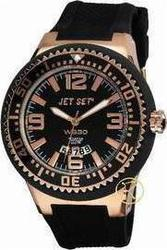 Jet Set WB30 Black Rubber Strap J5444R-267