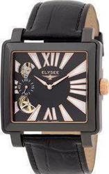 Elysee Automatic Black Square 67033