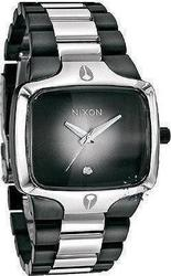 Nixon The Player Two-Tone Black Stainless Steel Bracelet A1401035
